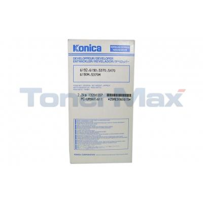 KONICA 6190 DEVELOPER BLACK